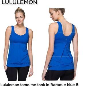 Lululemon athletica colbot logo toggle tank top 8